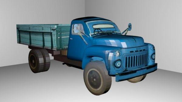 Tyypillinen vanha kuorma-auto