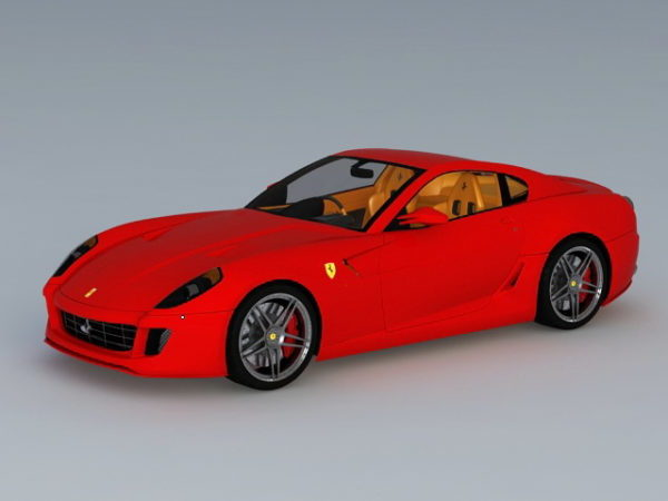 Coche deportivo Ferrari 599 Gtb Fiorano