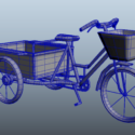 Old Adult Tricycle Cart