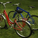 Old Hybrid Bicycle