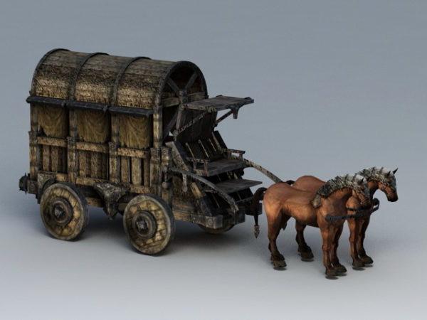 Vanha hevosvetovaunu