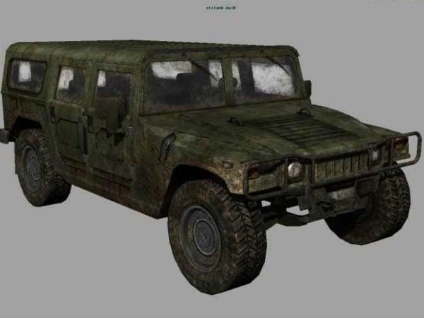 Military Hummer Car