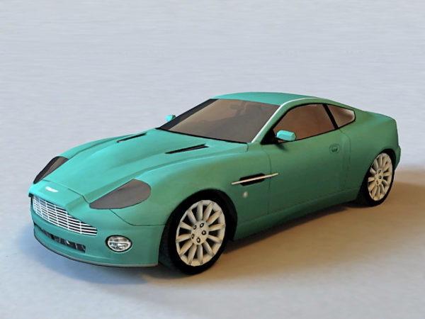Coche deportivo Aston Martin Vanquish