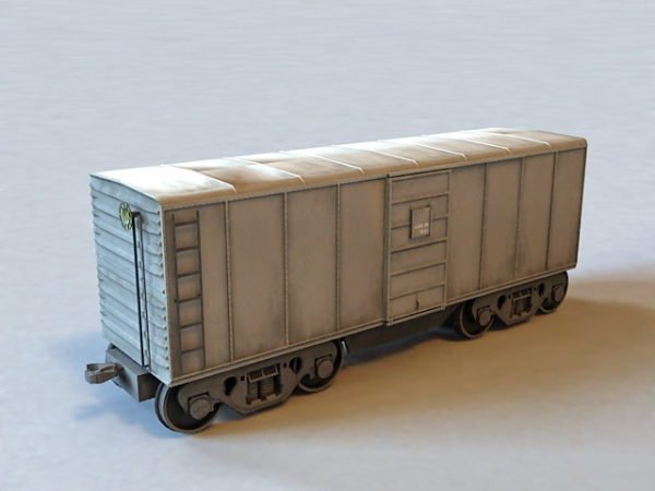Rail Transport Railroad Boxcar