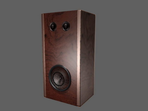 Vintage Bookshelf Audio Speaker