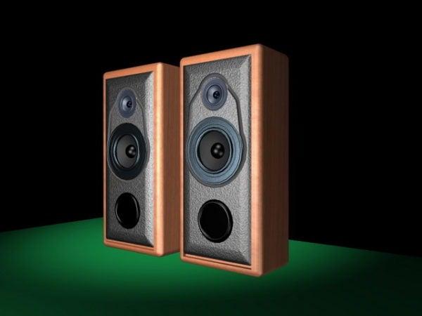 Wooden Computer Speakers