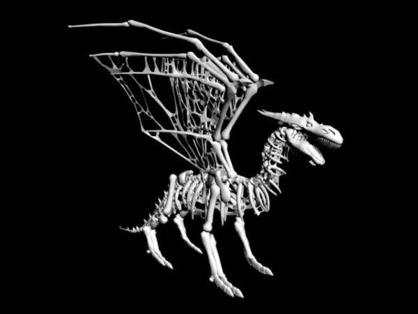 Dragon Kallo Luuranko