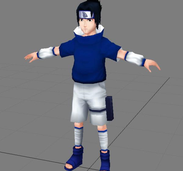 Sasuke Anime Personaje