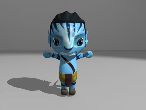 Lapsi-poika-avatar -elokuvahahmo