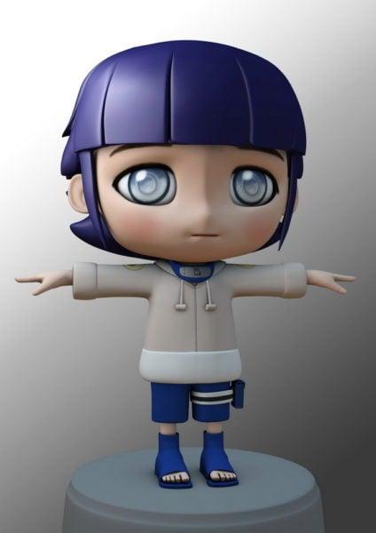 Personaje Kawaii Chibi Girl