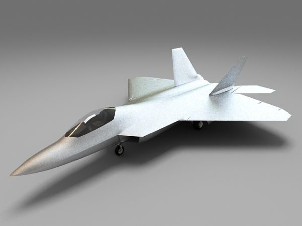 Future Military Fighter Jet
