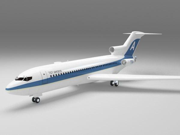 بنا بوينغ 727 الطائرة