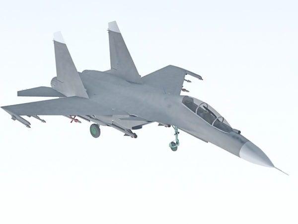 Venäläinen Su-30-hävittäjä