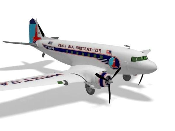 Douglas Dc-3 -lentokone