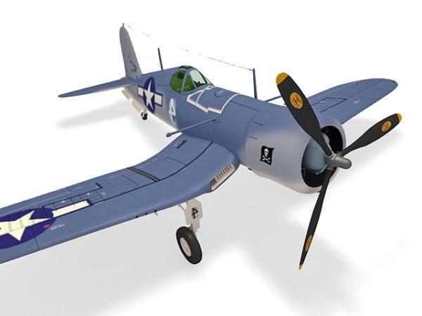 Voitti F4u Corsair-hävittäjän