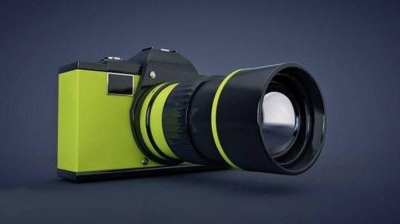 كاميرا Dslr