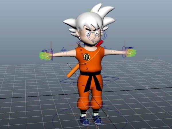 Plataforma de Dragon Ball Goku