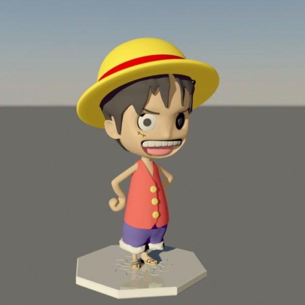 Monkey D. Luffy Carácter