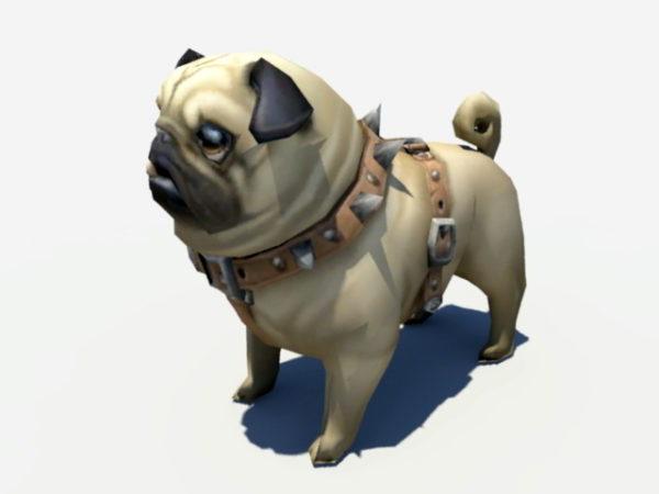 Mopsi-koiranpentu