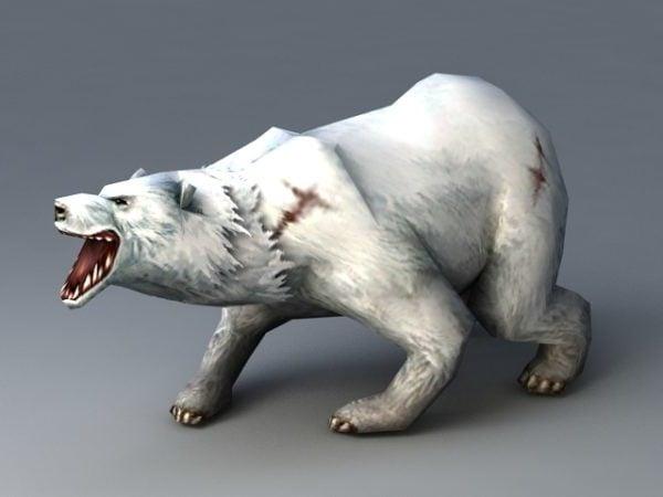 Jääkarhun animoitu takila