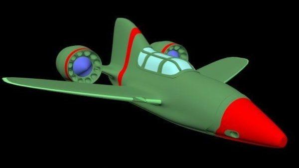 Sarjakuva lentokone
