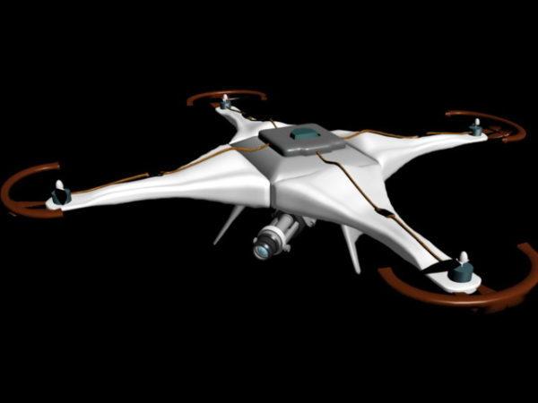 طائرة بدون طيار مع الكاميرا