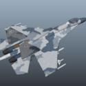 Su-27 jaktflygplan