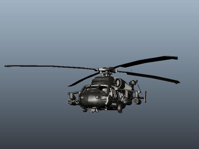 Helicóptero Uh-60 Black Hawk