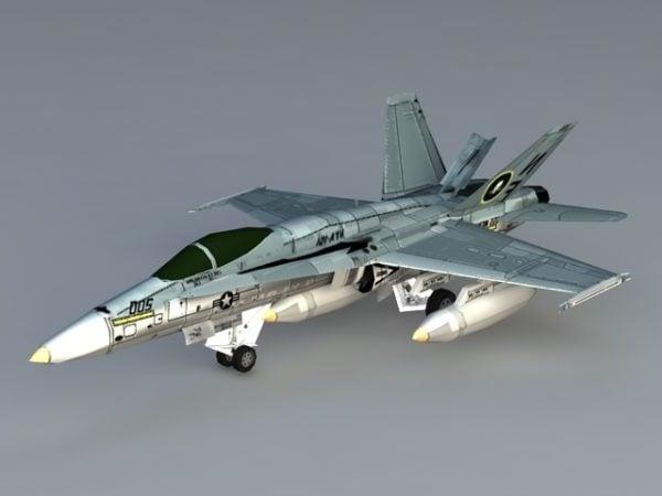 Aviones Hornet F 18