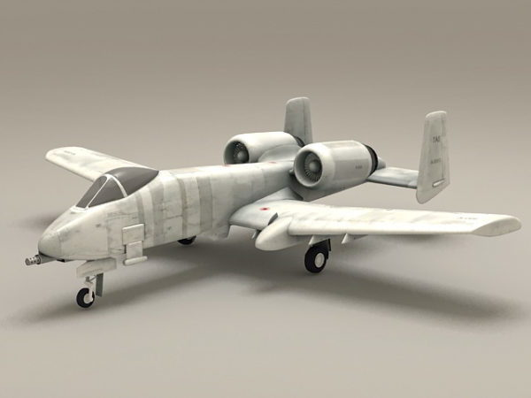 Avión de combate A-10 Thunderbolt Warthog