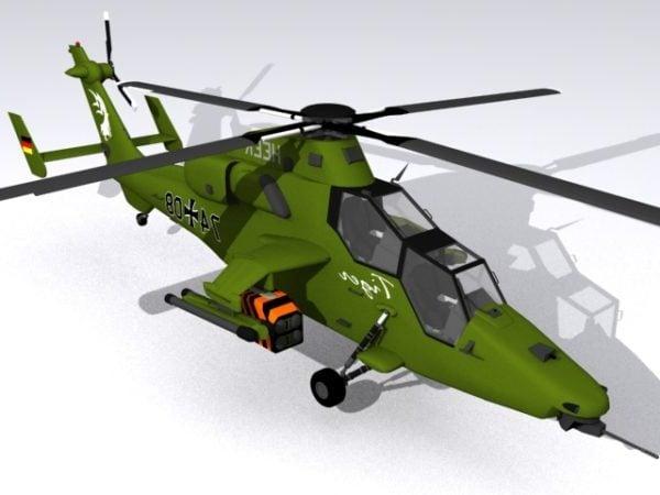 Helicóptero de ataque de tigre Eurocopter