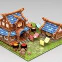 Anime Farmyard Scene