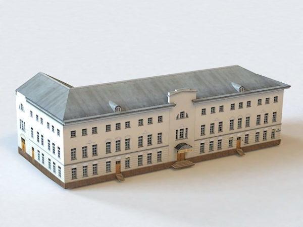 Ostozhenka Moscow Building