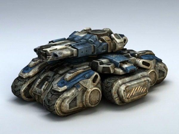 Starcraft Siege Tank