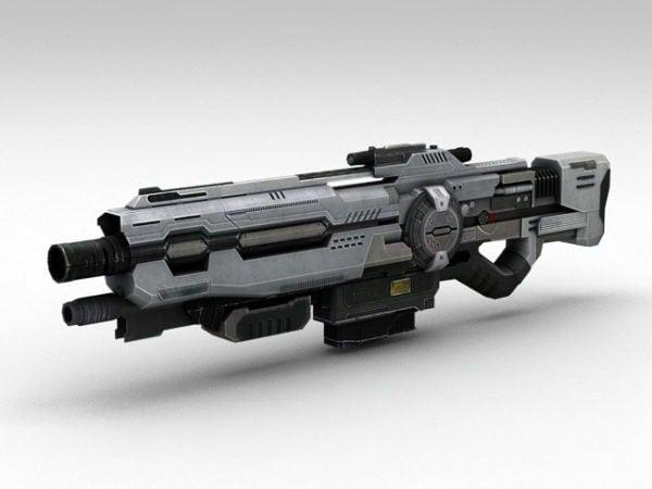 Sci-fi Assault Rifle