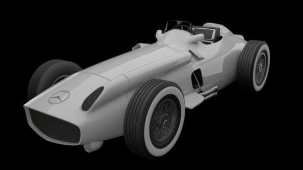 Mercedes-benz W196r F1