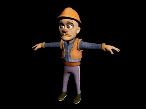 Cartoon Miner