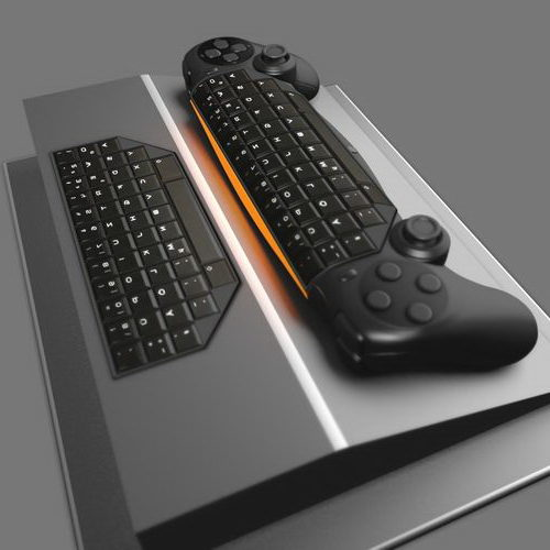 Gamepad Keyboard Hybrid