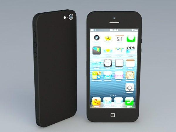 Iphone 5s musta