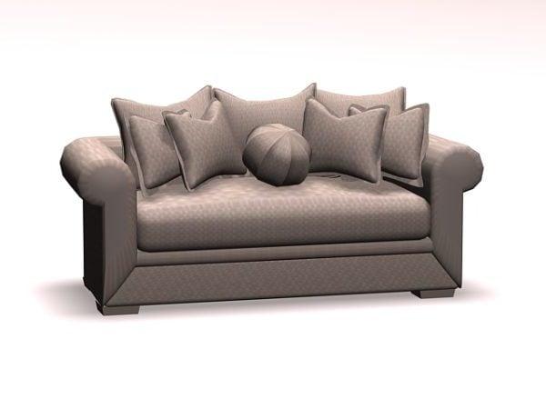 Pehmeä sohva Loveseat