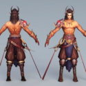 Ancient Barbarians Warrior