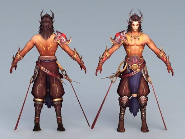 البرابرة القديمة المحارب