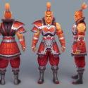 Male Barbarian Warrior