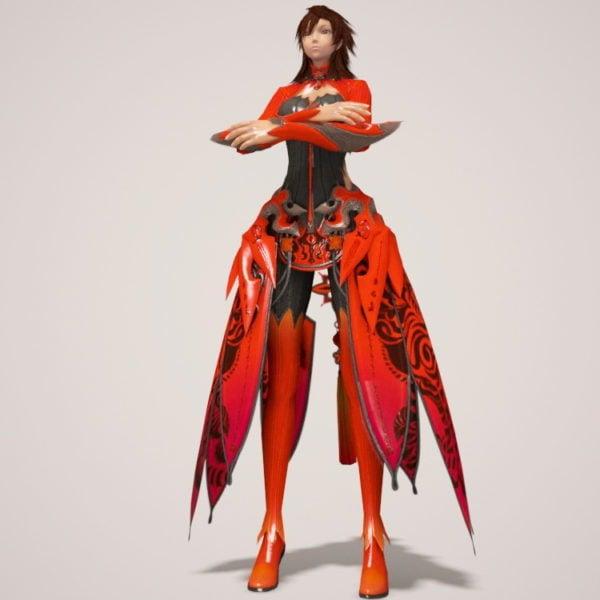 Dragon Girl Rig