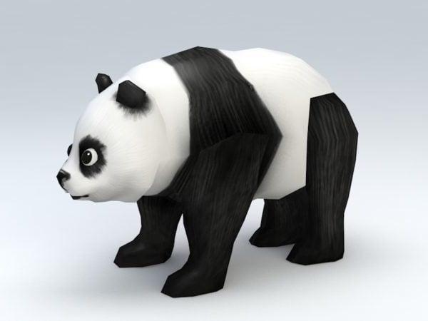 منخفضة بولي الباندا