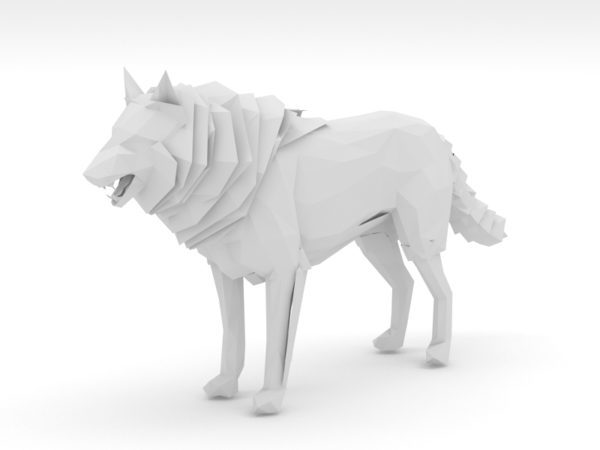 Lobo Low Poly