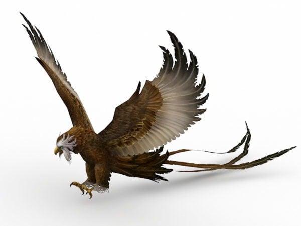Águila de cola larga
