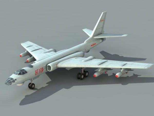 Chinese Xian H-6 Bomber