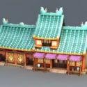 Ancient Anime Buildings