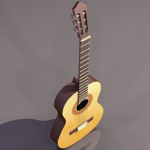 Modern Acoustic Guitar